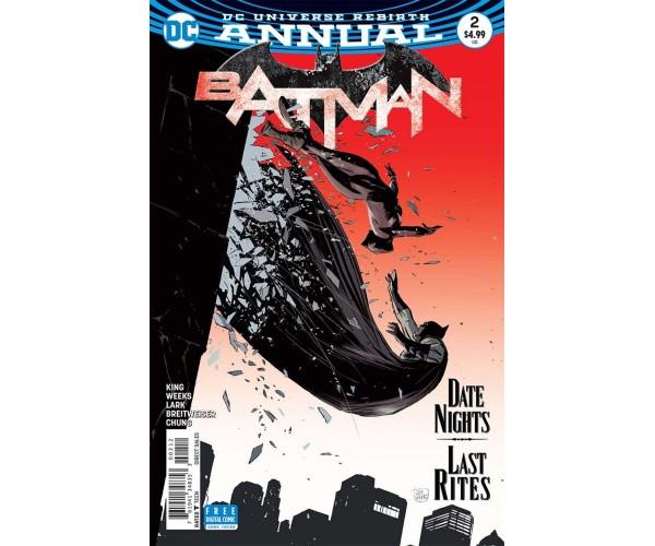 Batman Annual Vol 3 #2 Cover B 2nd Ptg Variant Lee Weeks Cover