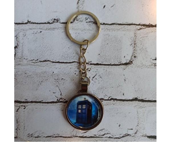Брелок Доктор Хто ТАРДІС TARDIS D25