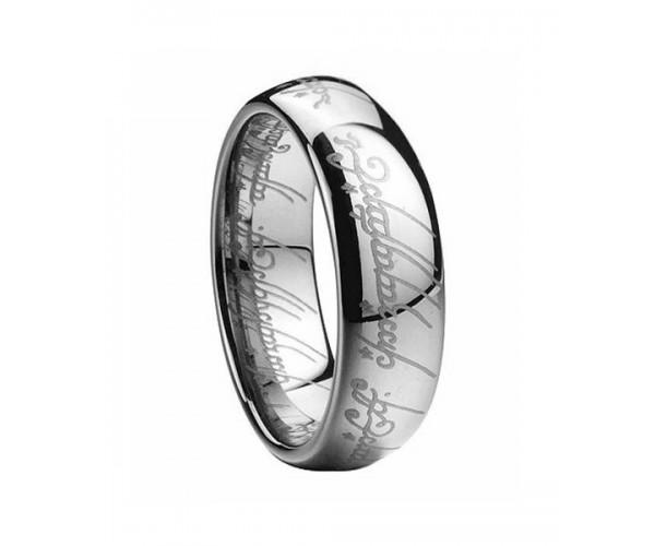"""Перстень всевладдя зі стрічки """"Володар перснів"""" срібний"""
