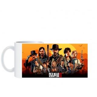 Чашка Red Dead Redemption 2