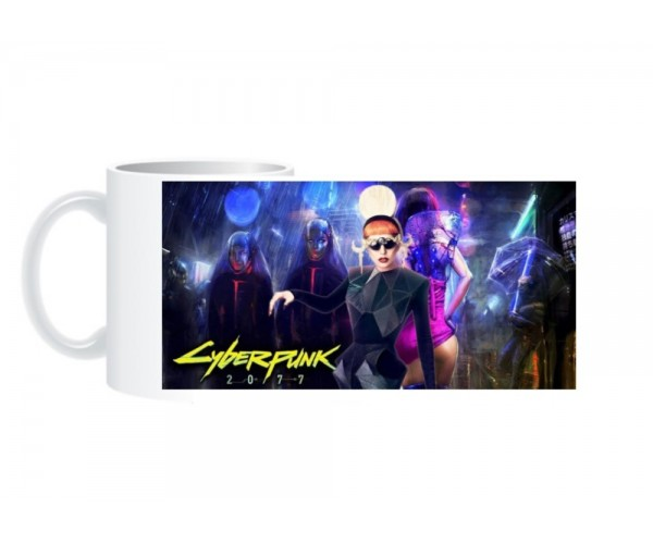 Чашка Cyberpunk 2077