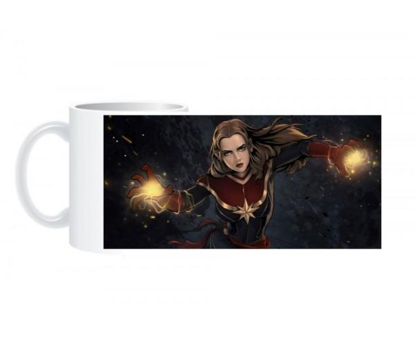 Чашка Капітан Марвел 02
