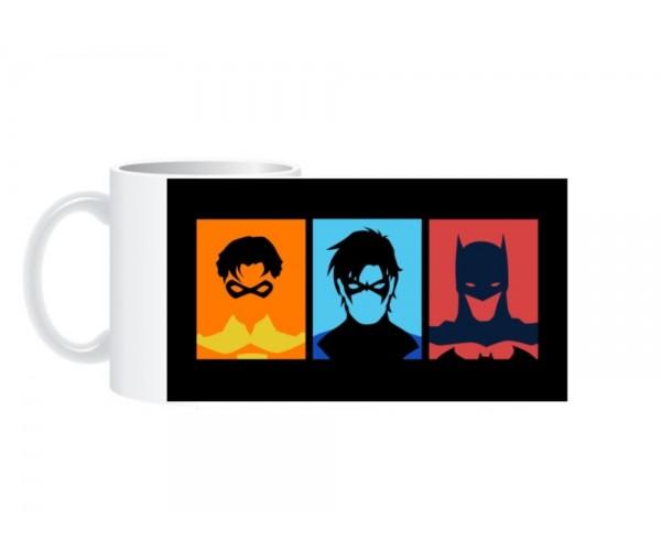 Чашка Bat Family