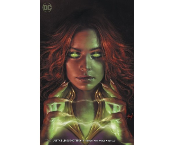 Justice League Odyssey #16 Cover B Variant Lucio Parrillo Cover
