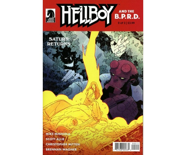 Hellboy And The BPRD Saturn Returns #2