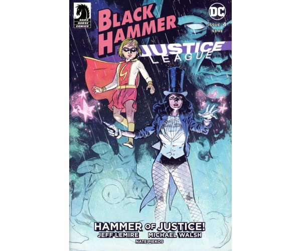 Black Hammer Justice League Hammer Of Justice #4 Cover A Regular Michael Walsh Cover
