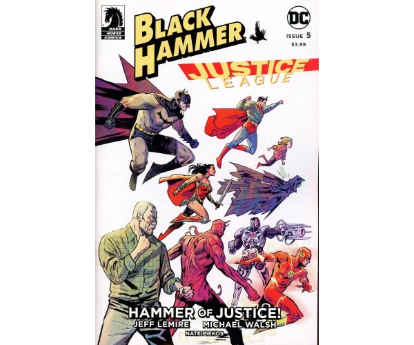Black Hammer Justice League Hammer Of Justice #5 Cover A Regular Michael Walsh Cover