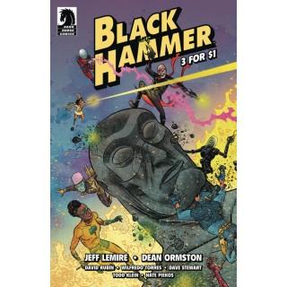 Black Hammer 3 For $1