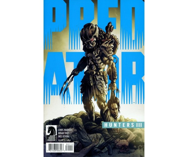 Predator Hunters III #1 Cover A Regular Brian Thies Cover