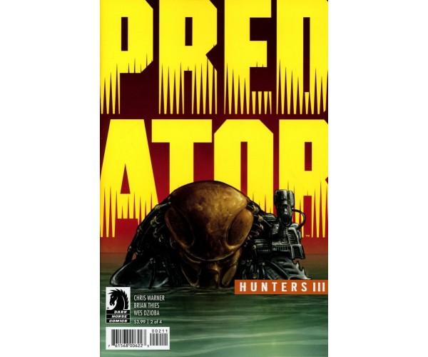 Predator Hunters III #2 Cover A Regular Brian Thies Cover