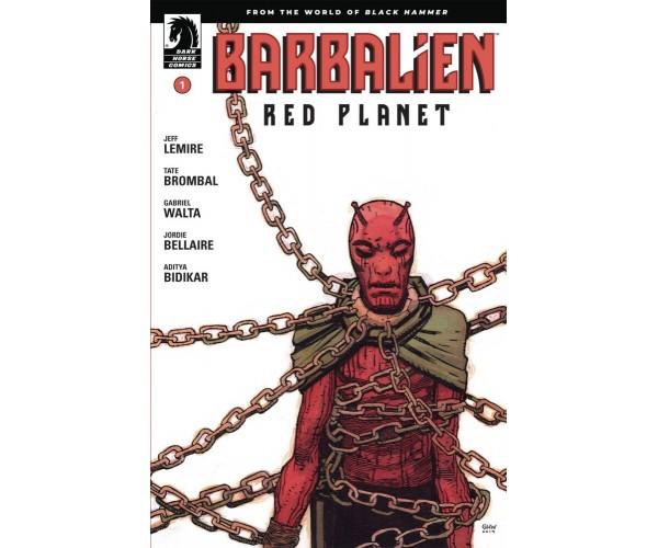 Barbalien Red Planet #1 Cover A Regular Gabriel Hernandez Walta Cover