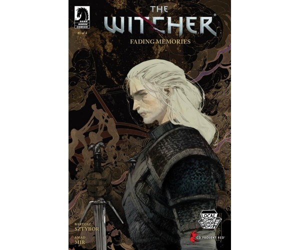 Witcher Fading Memories #1 Cover A Regular Evan Cagle Cover