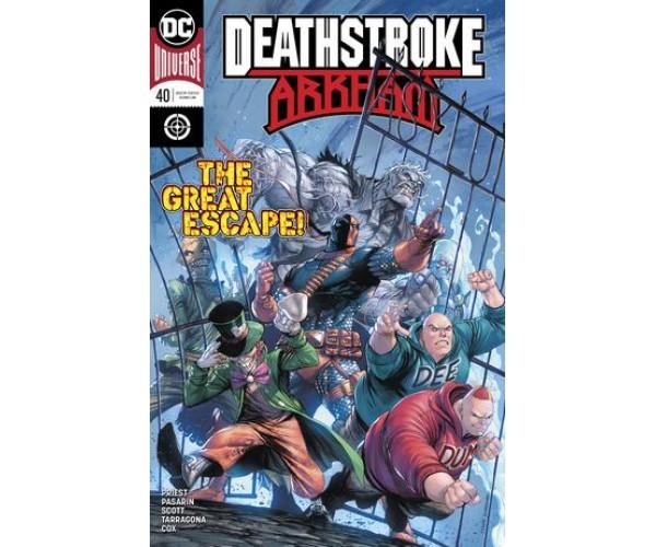 Deathstroke Vol 4 #40 Cover A Regular Tyler Kirkham Cover