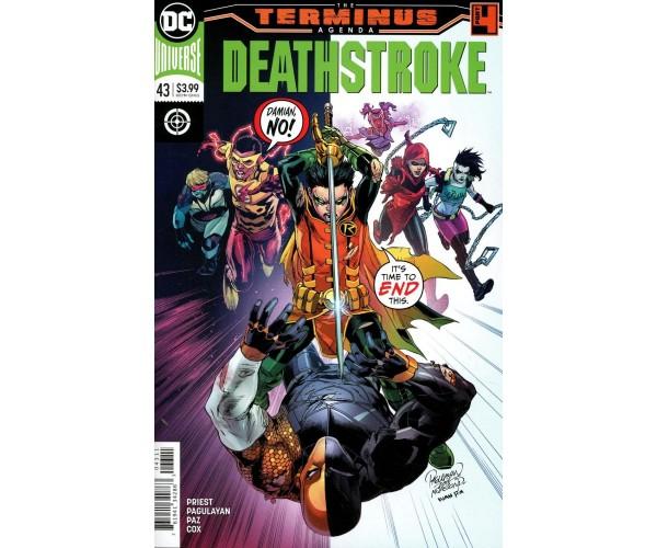Deathstroke Vol 4 #43 Cover A Regular Carlo Pagulayan & Jason Paz Cover (Terminus Agenda Part 4)
