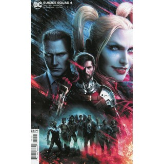 Suicide Squad Vol 5 #4 Cover B Variant Jeremy Roberts Cover