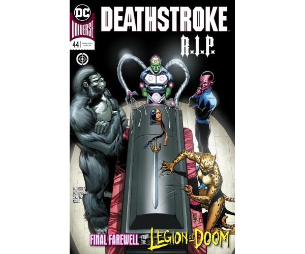 Deathstroke Vol 4 #44 Cover A Regular Giuseppe Camuncoli & Cam Smith Cover