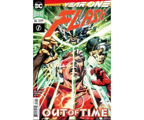 Flash Vol 5 #74 Cover A Regular Howard Porter Cover