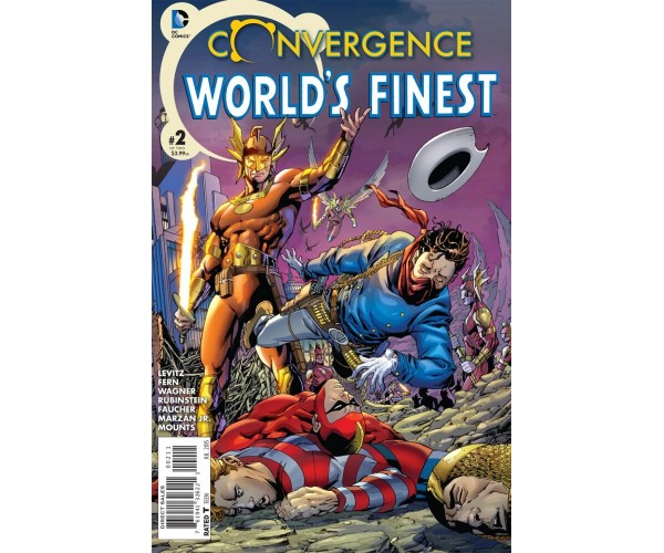 Convergence Worlds Finest Comics #2 Cover A Regular Aaron Lopresti Cover