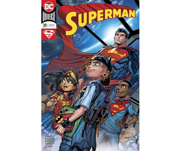 Superman Vol 5 #39 Cover B Variant Jonboy Meyers Cover
