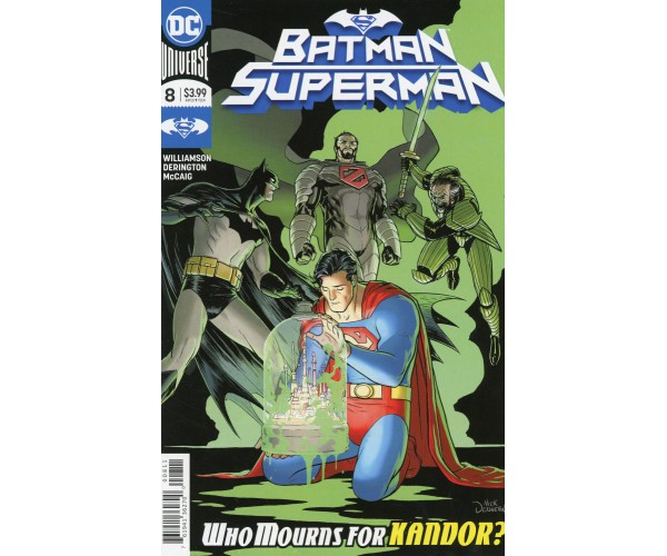 Batman Superman Vol 2 #8 Cover A Regular Nick Derington Cover