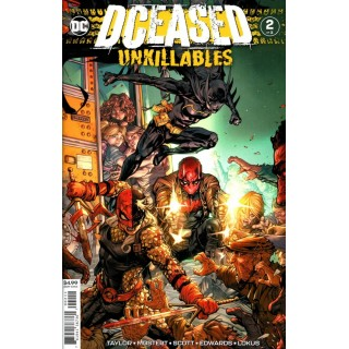 DCeased Unkillables #2 Cover A Regular Howard Porter Cover