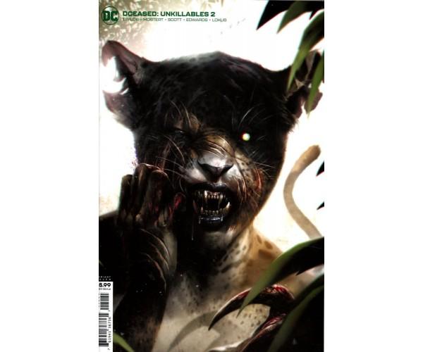 DCeased Unkillables #2 Cover B Variant Francesco Mattina Card Stock Cover