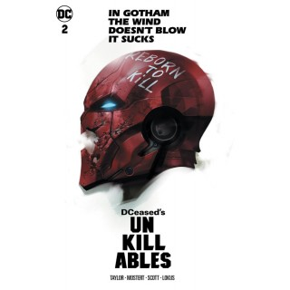 DCeased Unkillables #2 Cover C Variant Ben Oliver Horror Movie Homage Card Stock Cover