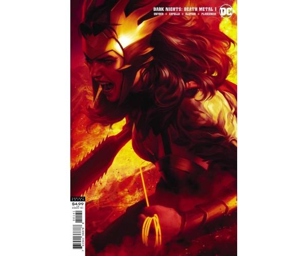 Dark Nights Death Metal #1 Cover D Variant Stanley Artgerm Lau Wonder Woman Cover