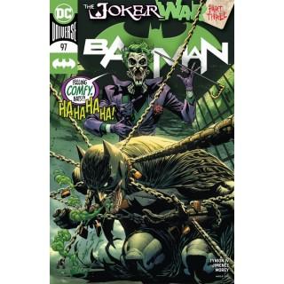 Batman Vol 3 #97 Cover A Regular Guillem March Cover (Joker War Tie-In)