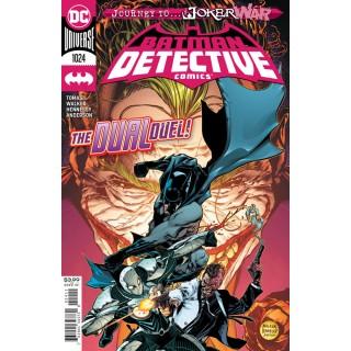 Detective Comics Vol 2 #1024 Cover A Regular Brad Walker & Andrew Hennessy Cover (Joker War Tie-In)