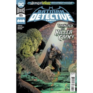Detective Comics Vol 2 #1026 Cover A Regular Kenneth Rocafort Cover (Joker War Tie-In)