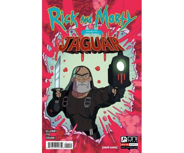 Rick And Morty Presents Jaguar #1 Cover A Regular Marc Ellerby Cover