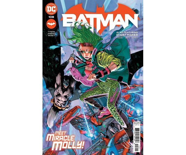 Batman Vol 3 #108 Cover A Regular Jorge Jimenez Cover