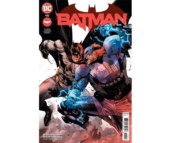 Batman Vol 3 #110 Cover A Regular Jorge Jimenez Cover