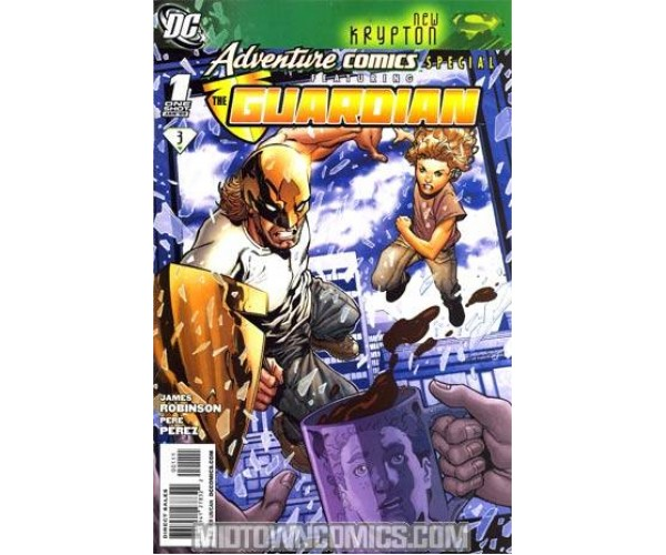 Adventure Comics Special Featuring Guardian #1 Cover A Regular Aaron Lopresti Cover (New Krypton Part 3)