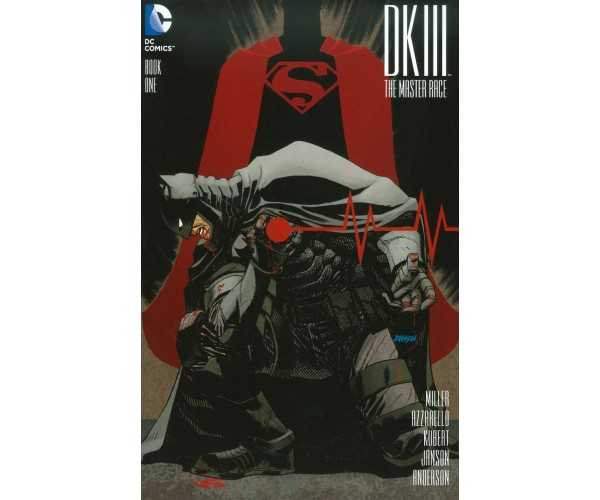 LCSD 2015 Dark Knight III The Master Race #1 Variant Dave Johnson Cover