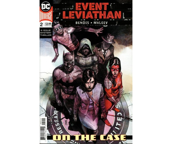 Event Leviathan #2 Cover A Regular Alex Maleev Cover