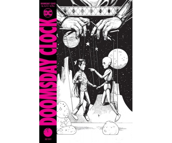 Doomsday Clock #8 Cover C 2nd Ptg Variant Gary Frank Cover