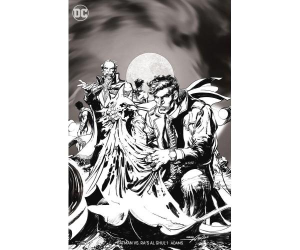 Batman vs Ras Al Ghul #1 Cover B