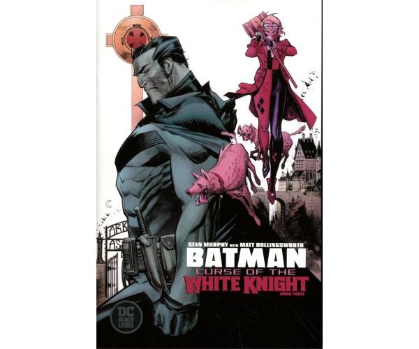 Batman Curse Of The White Knight #3 Cover A