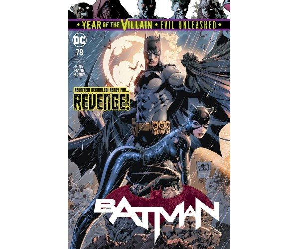 Batman Vol 3 #78 Cover A Regular Tony S Daniel Cover 2nd print (Year Of The Villain Evil Unleashed Tie-In)