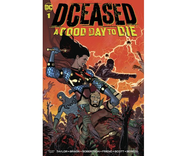 DCeased A Good Day To Die #1 Cover A Regular Ryan Sook Cover