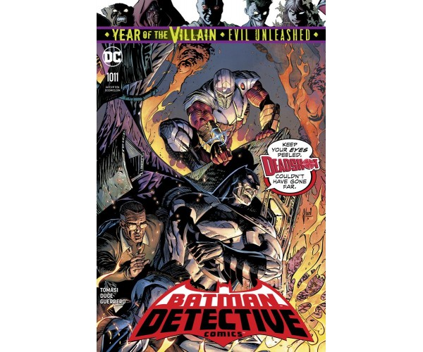Detective Comics Vol 2 #1011 Cover A Regular Guillem March Cover (Year Of The Villain Evil Unleashed Tie-In)