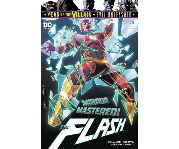 Flash Vol 5 #78 Cover A Regular Rafa Sandoval & Jordi Tarragona Cover (Year Of The Villain Evil Unleashed Tie-In)