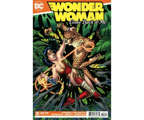 Wonder Woman Come Back To Me #3