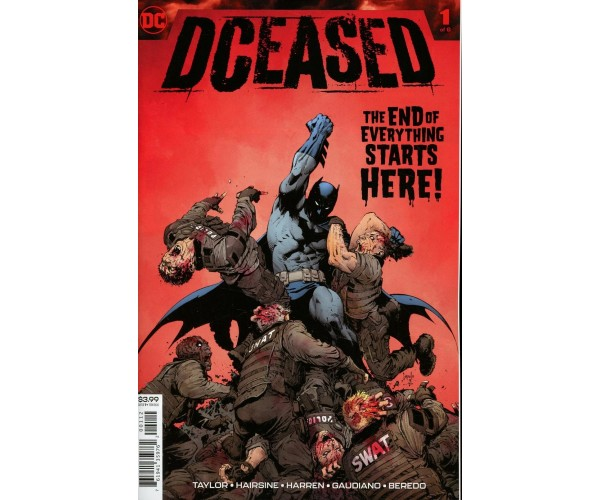 DCeased #1 Cover L 2nd Ptg Variant Greg Capullo Cover