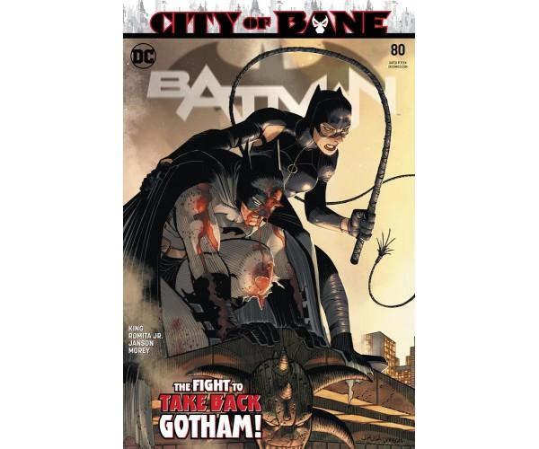 Batman Vol 3 #80 Cover A Regular John Romita Jr & Klaus Janson Cover