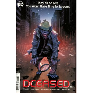 DCeased #6 Cover C Variant Yasmine Putri Horror Movie Homage Card Stock Cover