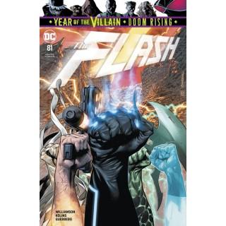 Flash Vol 5 #81 Cover A Regular Rafa Sandoval Cover (Year Of The Villain Doom Rising Tie-In)