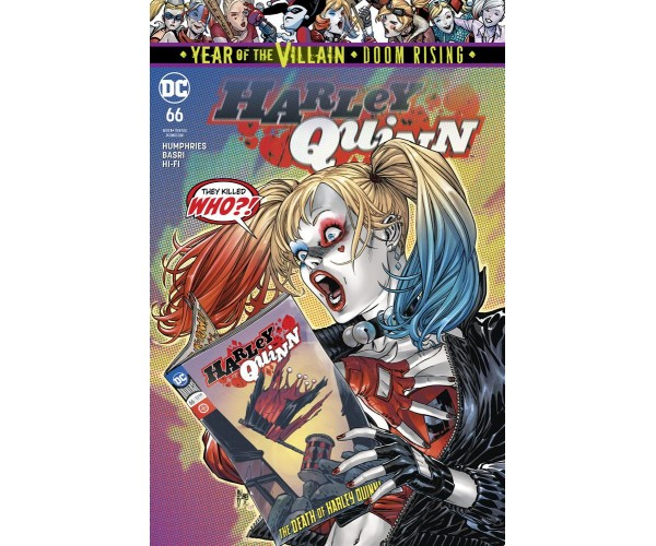 Harley Quinn Vol 3 #66 Cover A Regular Guillem March Cover (Year Of The Villain Doom Rising Tie-In)